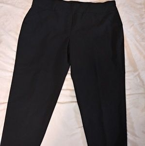 Alfred Dunner plus size black pants